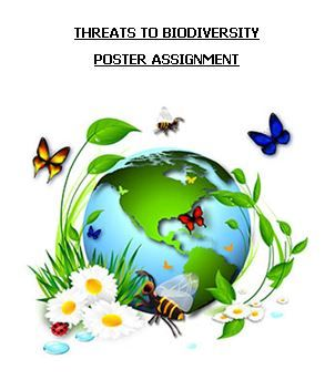 Threats To Biodiversity Integrated Poster Assignment