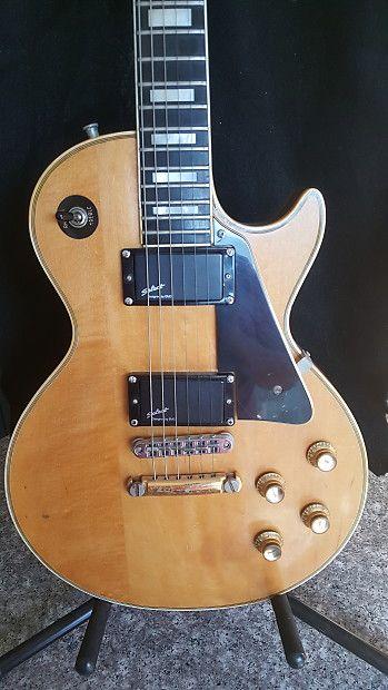 Gibson Les Paul Custom 1969 - Natural finish Guitars Les paul