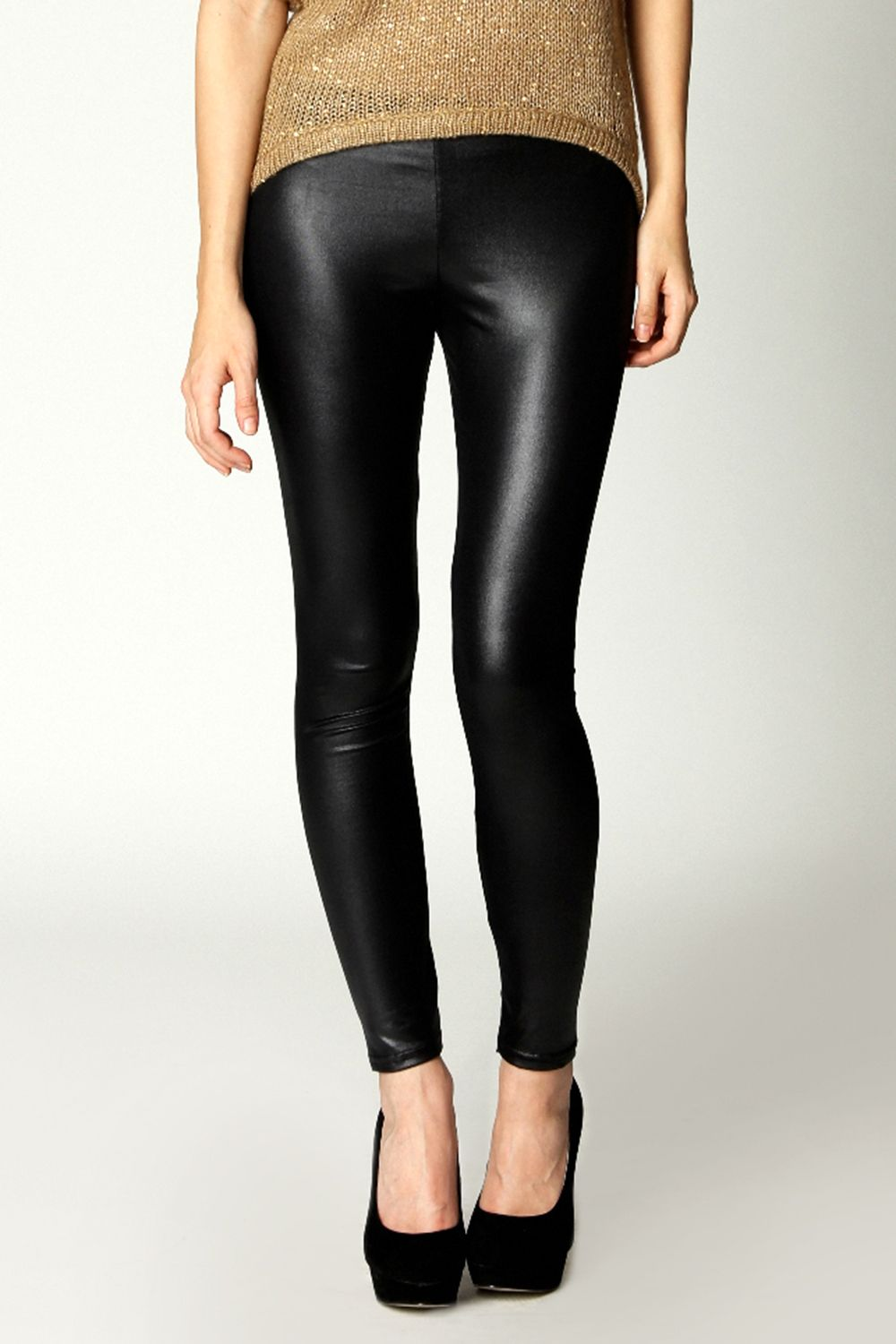 d2f45bf4784e Carla Wet Look Leggings £10 @ Boohoo | 6/9/12 Wish List Edited | Wet ...