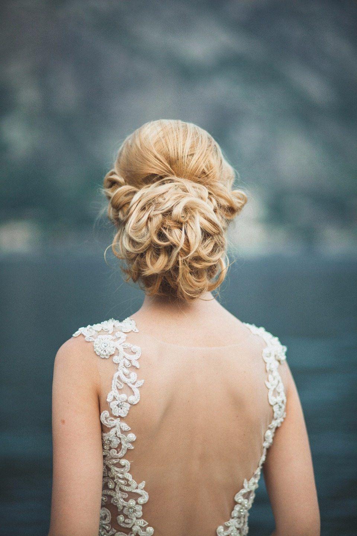 bridal hair прическа невесты