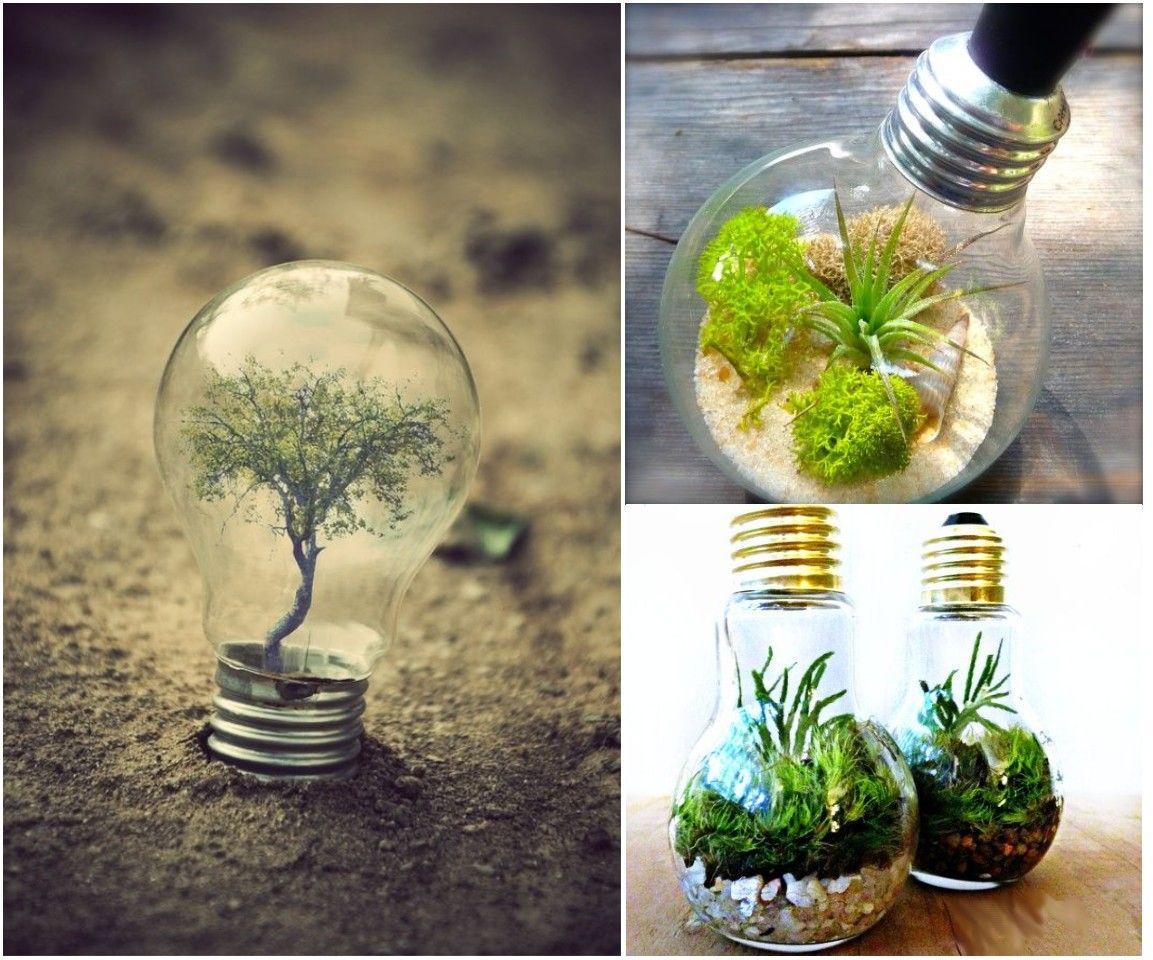 10 ideas de decoraci n con bombillas recicladas bombas for Ideas decoracion reciclaje
