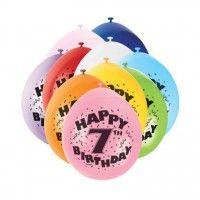 Ein Geburtstag ohne Luftballons? Das geht überhaupt nicht! Diese zehn kunterbunten Luftballons sind perfekt für jeden 7.Geburtstag und verraten den Gästen auf dekorative Art und Weise, welches...