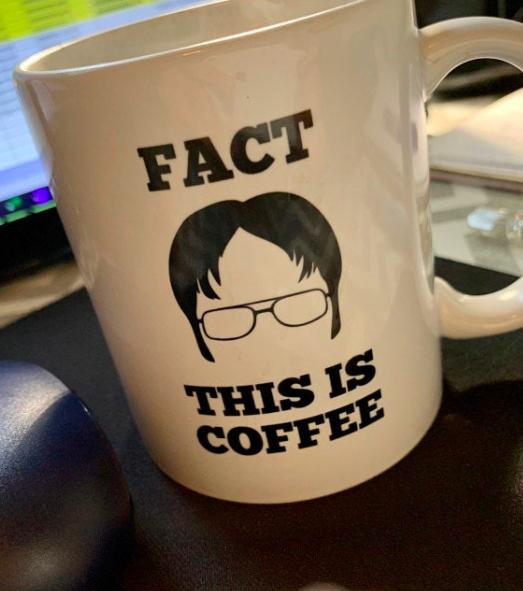 The Office Coffee Mug Dwight Schrute Mug Office Coffee Mugs Funny Coffee Mugs