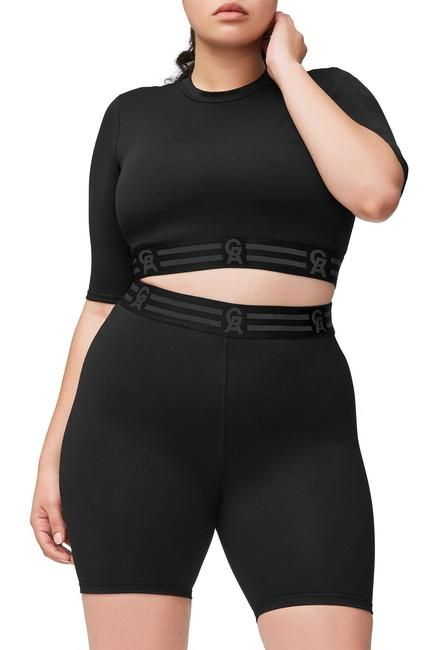 9cecd86cfe The Icon Crop Top Black001 in 2019