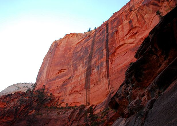 Zion National Park in UT.  Simply gorgeous.