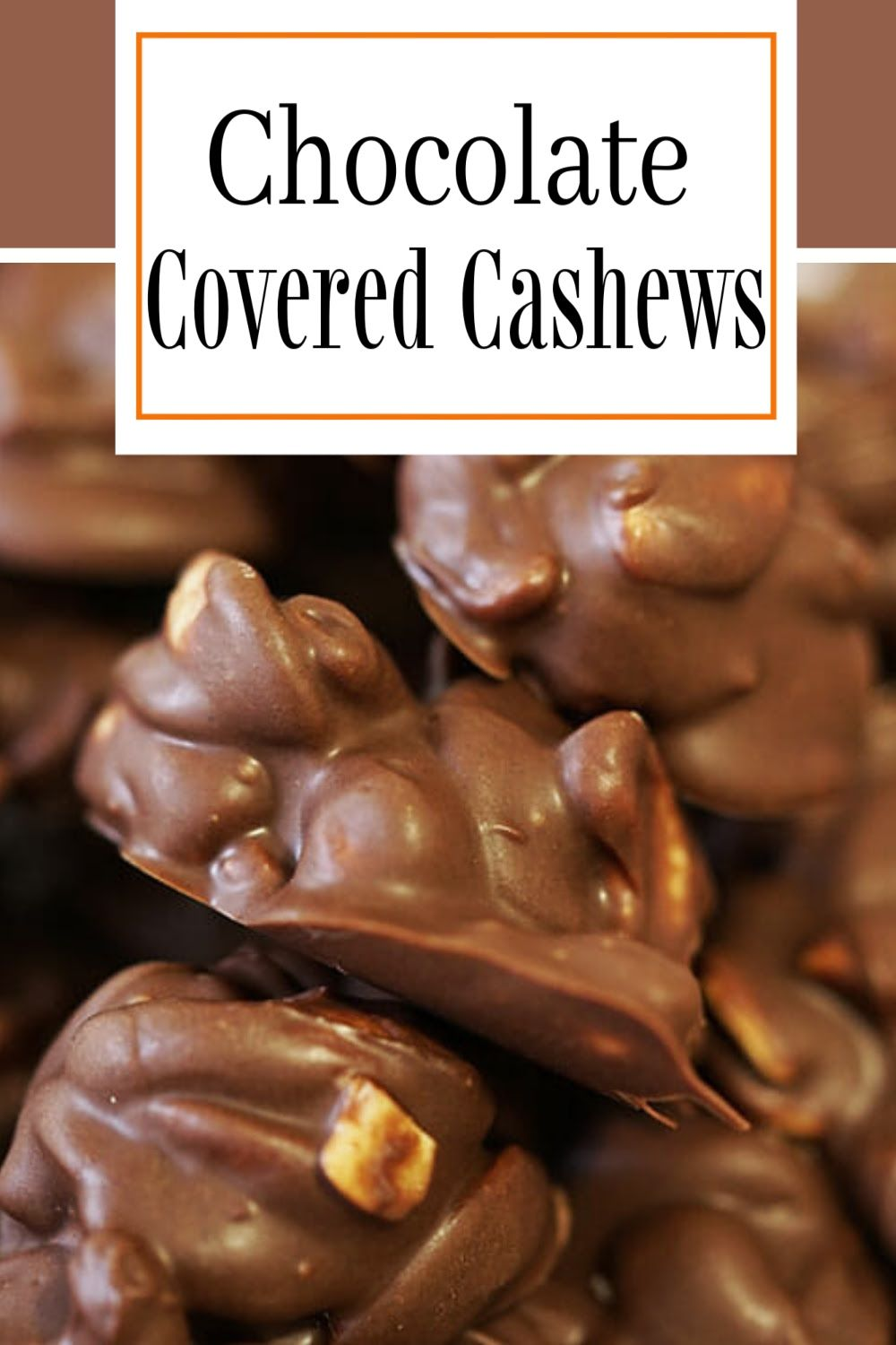 Easy Chocolate Covered Cashews Recipe Recipe In 2021 Chocolate Covered Cashews Recipe Cashew Recipes Chocolate Covered Nuts