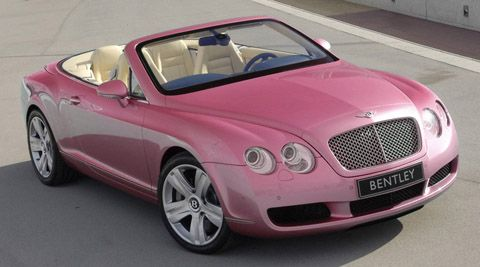 sale pink for bentley limo