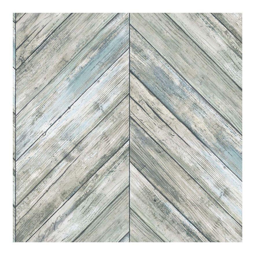 Roommates Herringbone Faux Board Peel Stick Wallpaper Stripped Wallpaper Peel And Stick Wallpaper Herringbone Wood