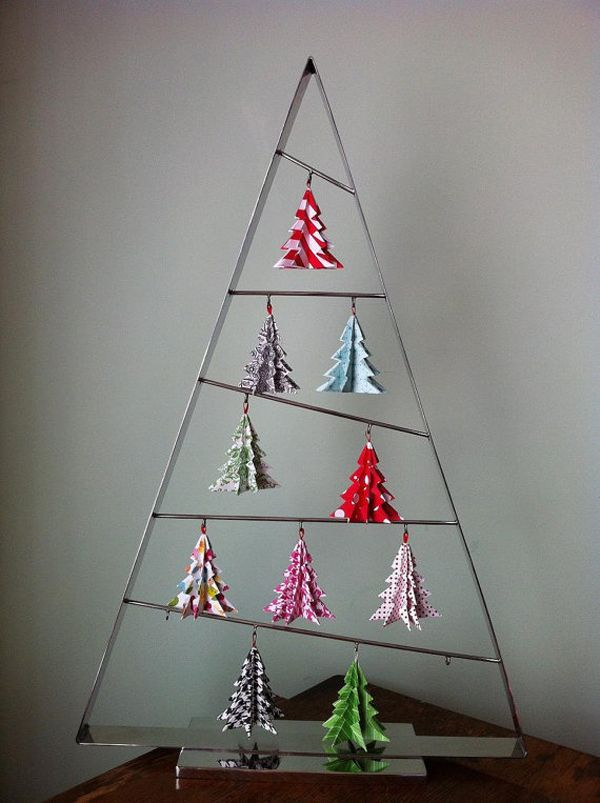 10 Unique And Creative Christmas Tree Ideas Creative Christmas Trees Origami Christmas Tree Christmas Origami