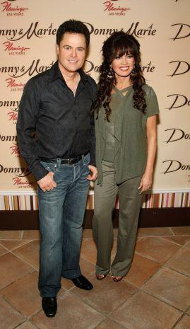 Donny and Marie Osmond - He's a little bit rock and roll and she's a little bit country, at the Flamingo, Las Vegas