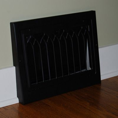 Removing And Painting Old Heat Vents Baseboard Styles Baseboard
