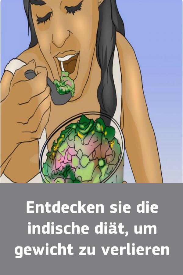 Um Gewicht zu verlieren, essen Sie Gemüse