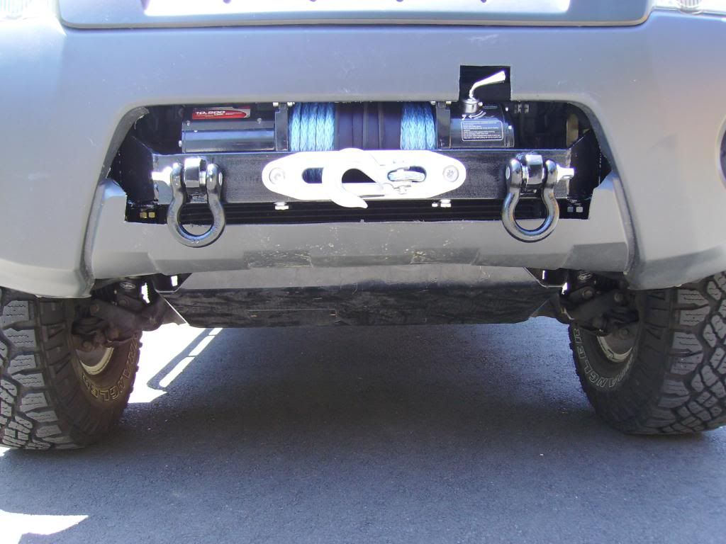Winch In Stock Bumper On Xterra Nissan Xterra Nissan Nissan Trucks