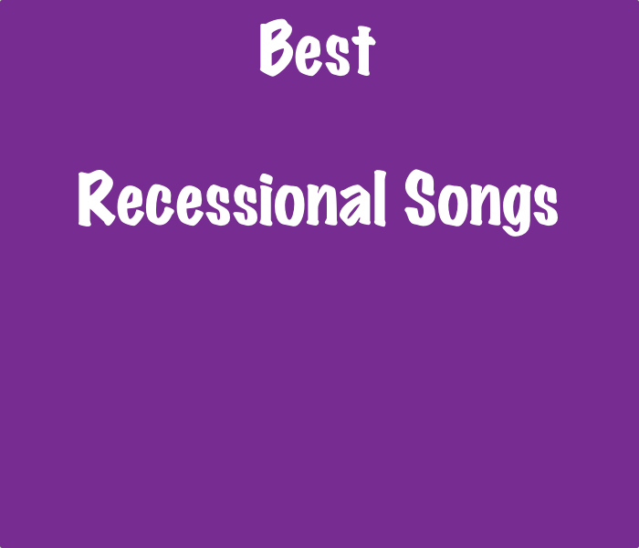 Recessional Wedding Songs.List Of The Best Wedding Recessional Songs Songlistsdb
