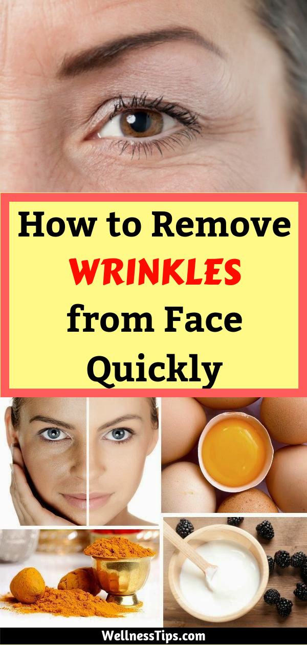 how to remove wrinkles from face quickly