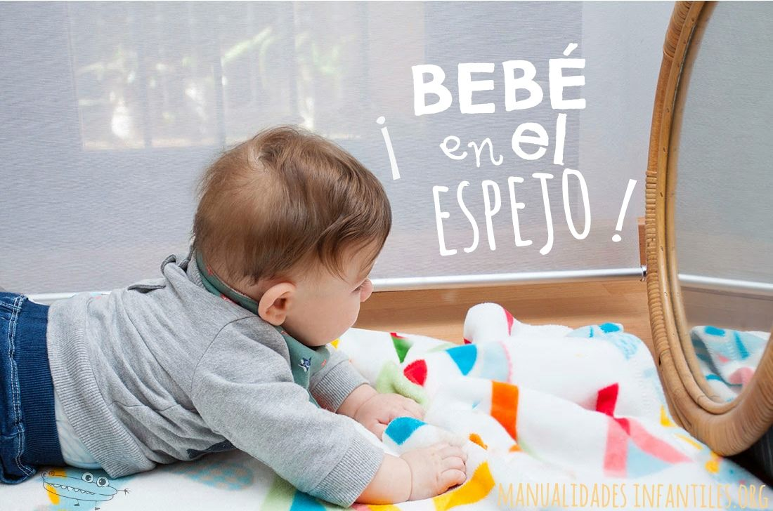Actividad con el beb en el espejo actividades for Espejo retrovisor para ninos