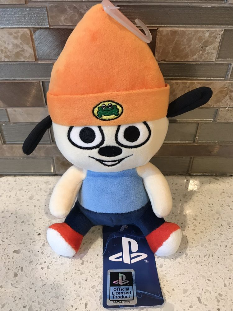 bbaf3b3c3ff PaRappa Classic Stubbins Plush PaRappa the Rapper Playstation Official  Licensed
