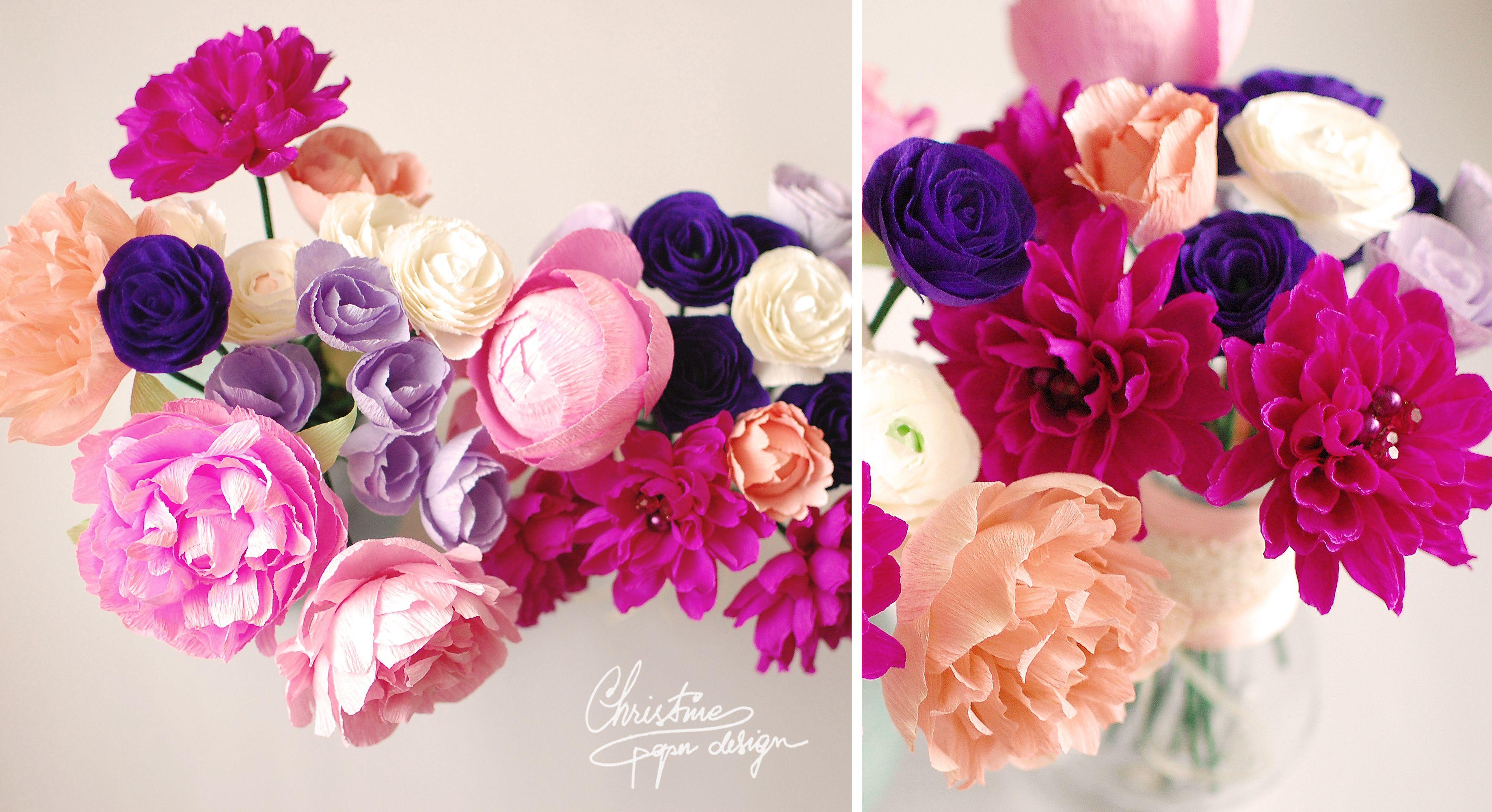 Diy Paper Flowers For An Alternative Bridal Bouquet Paper Flowers