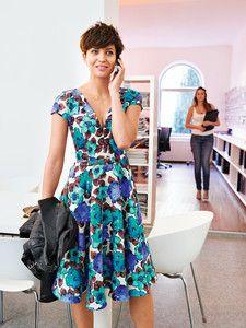burda style: Damen – Langgrößen – Kleider & Röcke – Retro-Kleid – 50er-Look