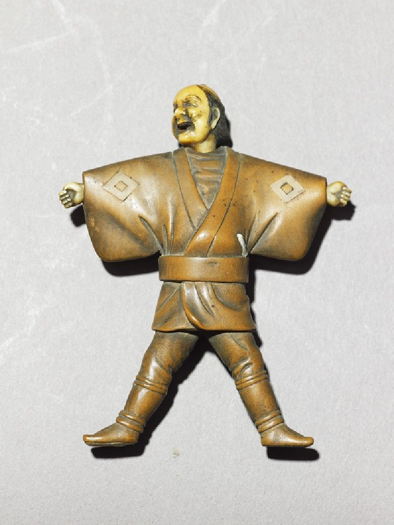 Netsuke in the form of a man (EA1956.3205)
