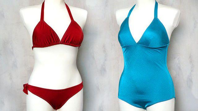 Bademode: Bikinis und Badeanzüge mit Makerist selber nähen ...