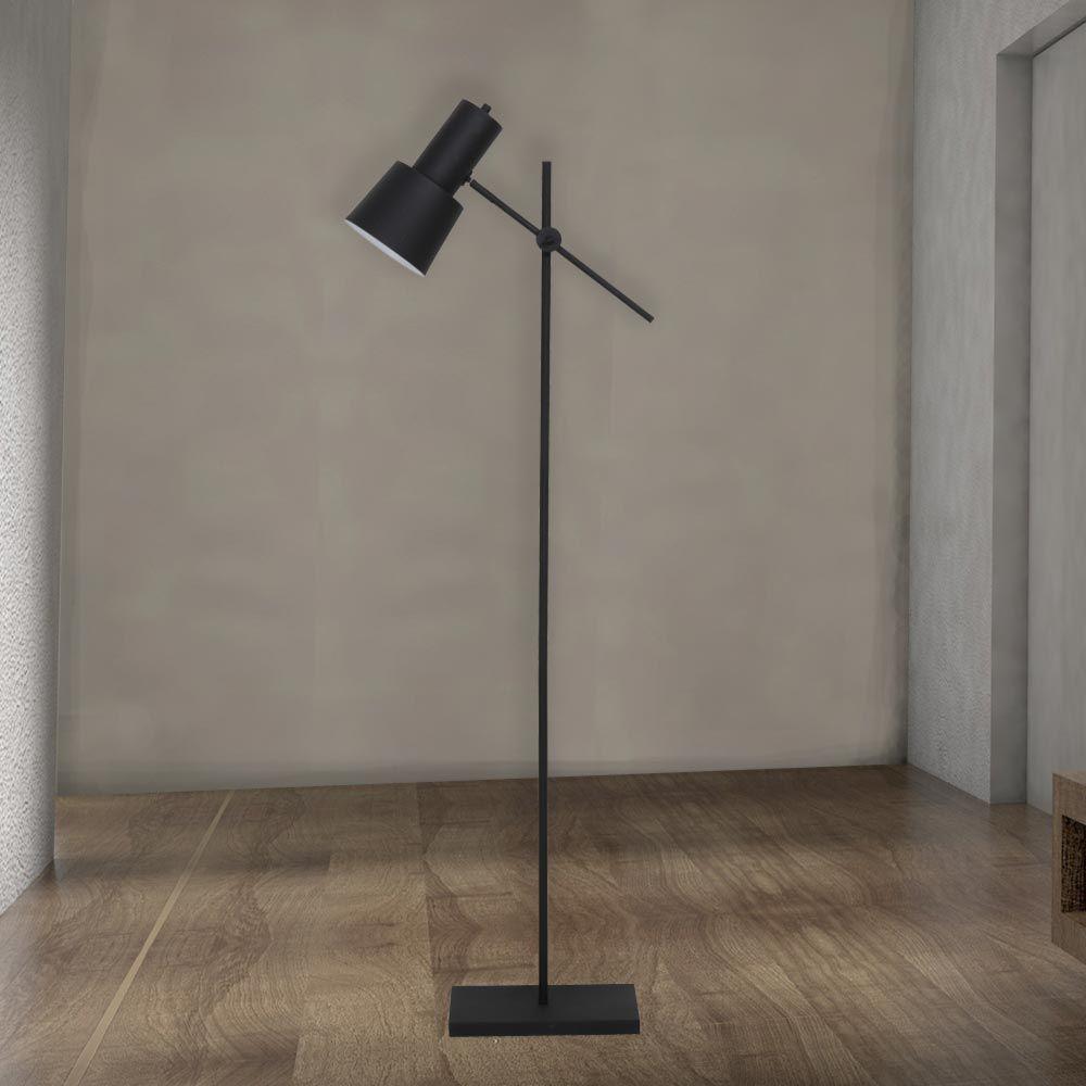 Adjustable Black Industrial Floor Lamp Cl 36080 Industrial Floor Lamps Floor Lamp