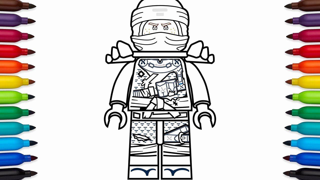 28 Jay Ninjago Coloring Page in 2020