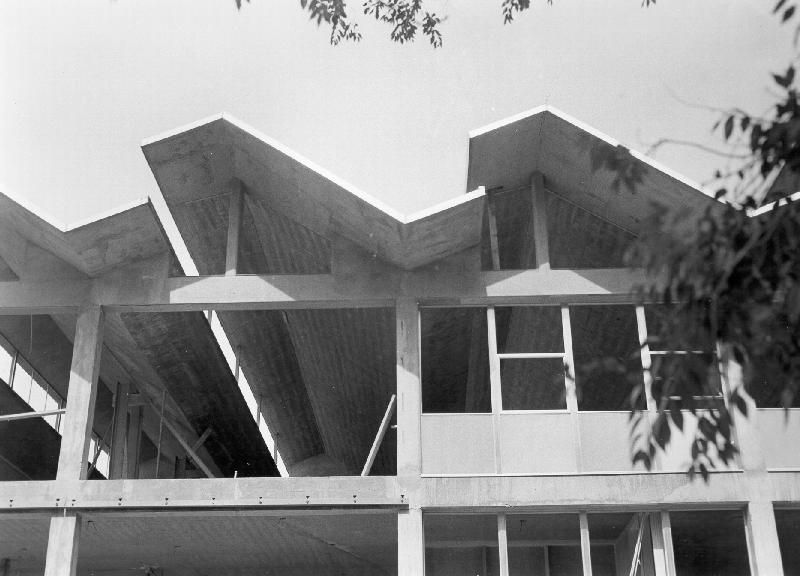 Folded Plate Roof For Gymnasium And Cafeteria Models