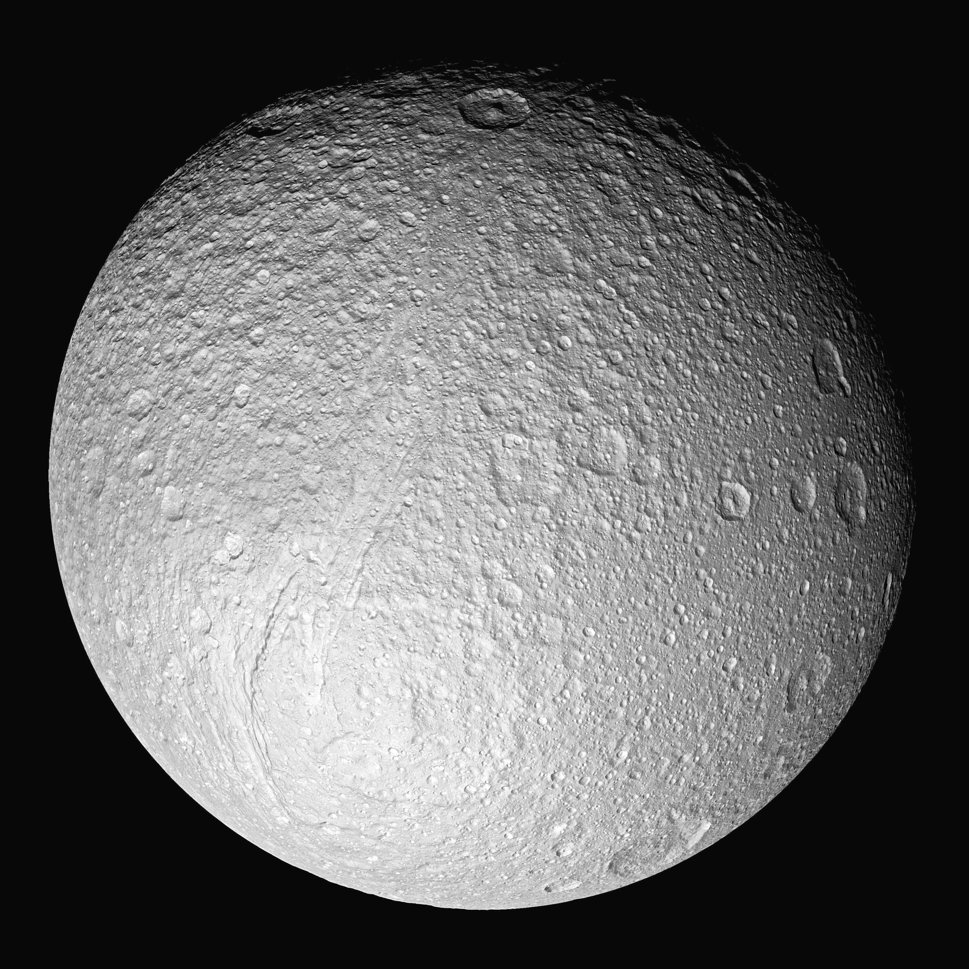 planet saturn moons - HD3200×3200