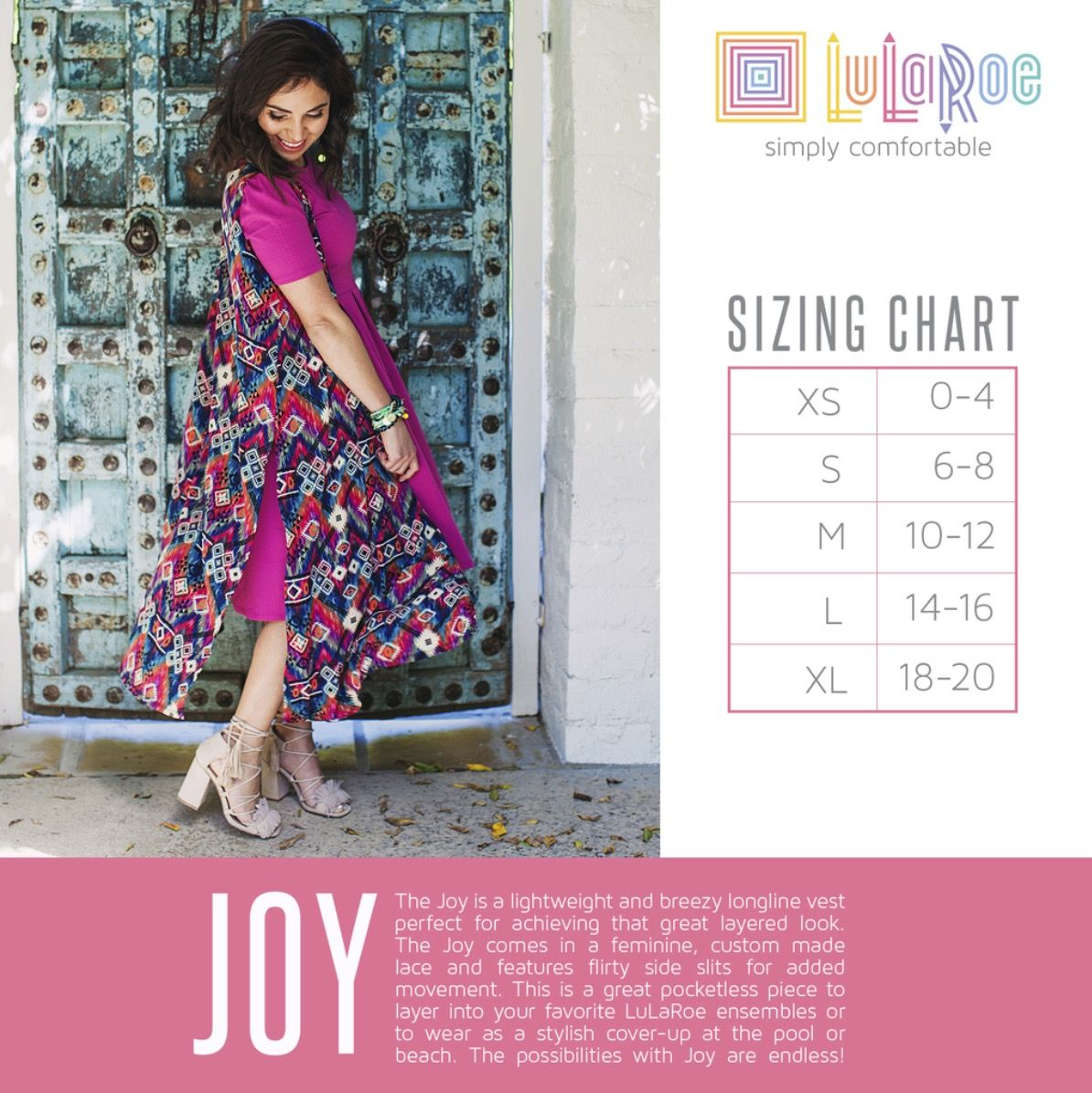 0e77e0318 Pin by Jill Domme © on Plunder Biz Ideas | Lularoe joy size chart ...