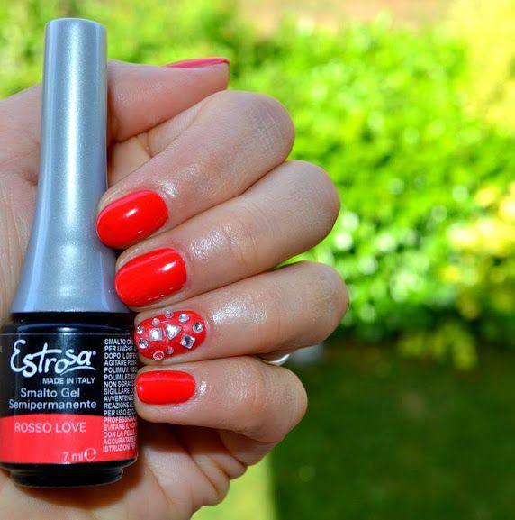 Smalto Semipermanente Estrosa Rosso Love Estrosa Nel 2019 Nails Nail Art E Coffee Bottle