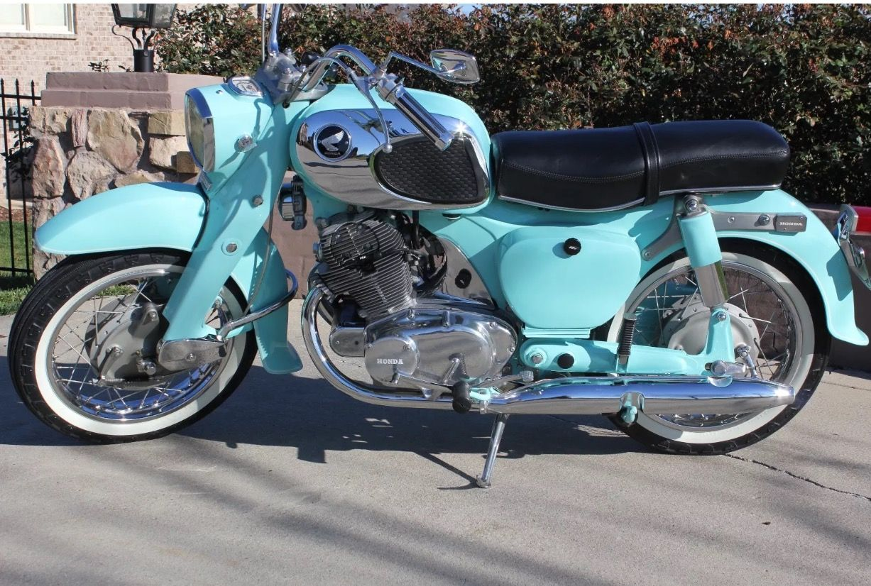 medium resolution of 1969 honda 305 dream