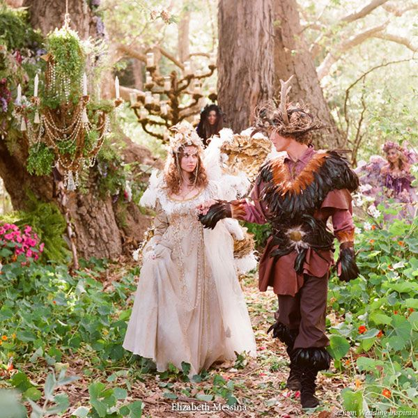 A Royal Fairy And Elf Wedding Theme In 2019