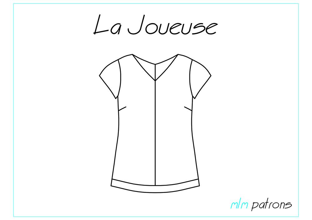 Patron PDF La Joueuse   Patrones