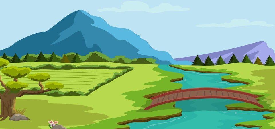 Https Ift Tt 3hjhp86 Gambar Latar Belakang Alam Semulajadi Di Tepi Sungai Dengan Gunung Gambar Animasi Pemandangan Alam 960x635 Wallpaper Teahub Io Htt In 2020