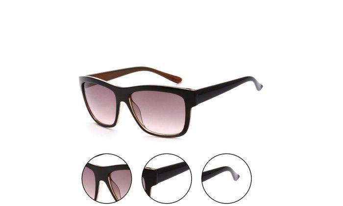 Cute Classic Womens Half Horn Rimmed Sunglasses UV400