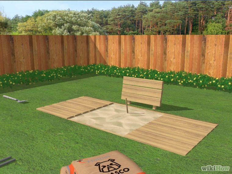 Build a Horseshoe Pit | House yard, Backyard, Backyard games