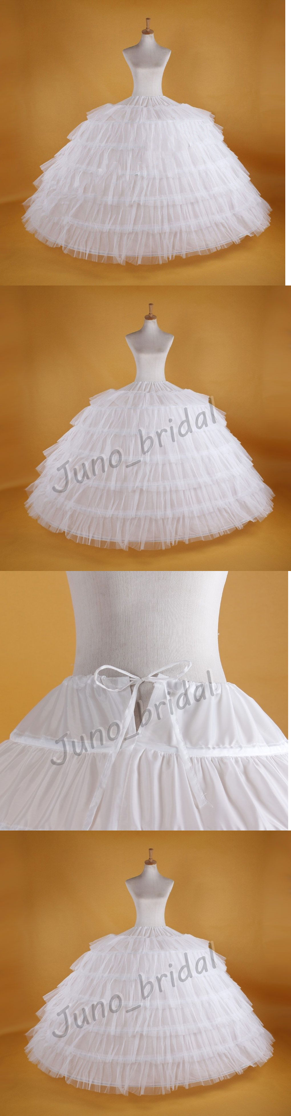 Petticoat for wedding dress  Bridal Accessories White Super Big Hoop Wedding Bridal Prom