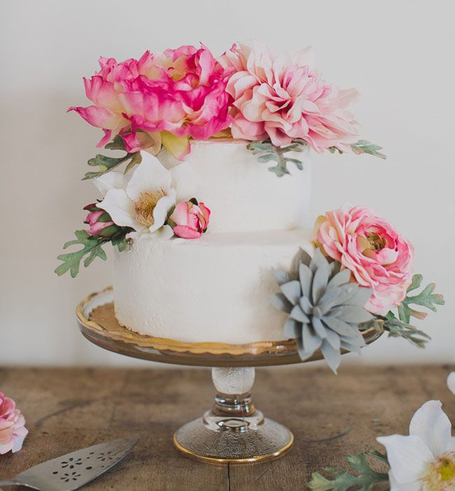 Flower Cake Toppers, Diy Flower