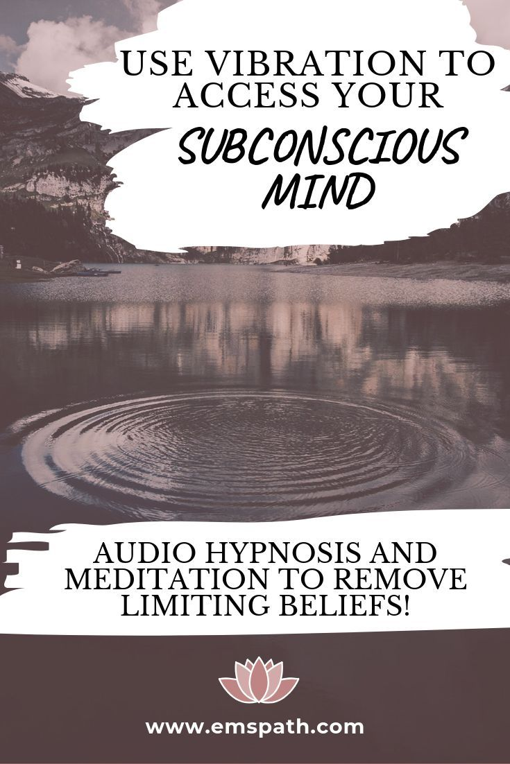 What have you done to raise your vibration To change your subconscious thoughts Add in these audio hypnosis and meditations to reprogram your mind for success love and he...