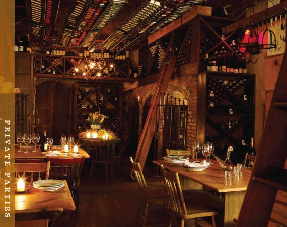 Il Buco In Downtown Nyc Has A Sweet Intimate Wine Cellar