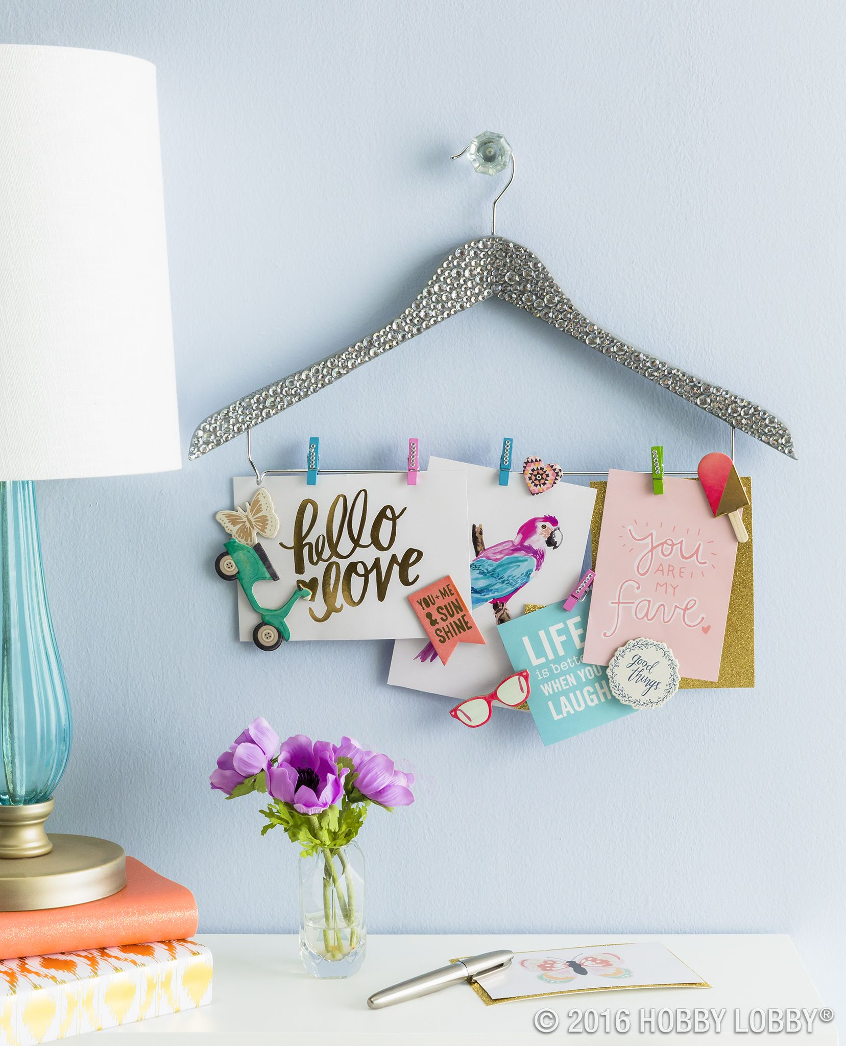 Limited On Space? Create An Unconventional Memo Board To