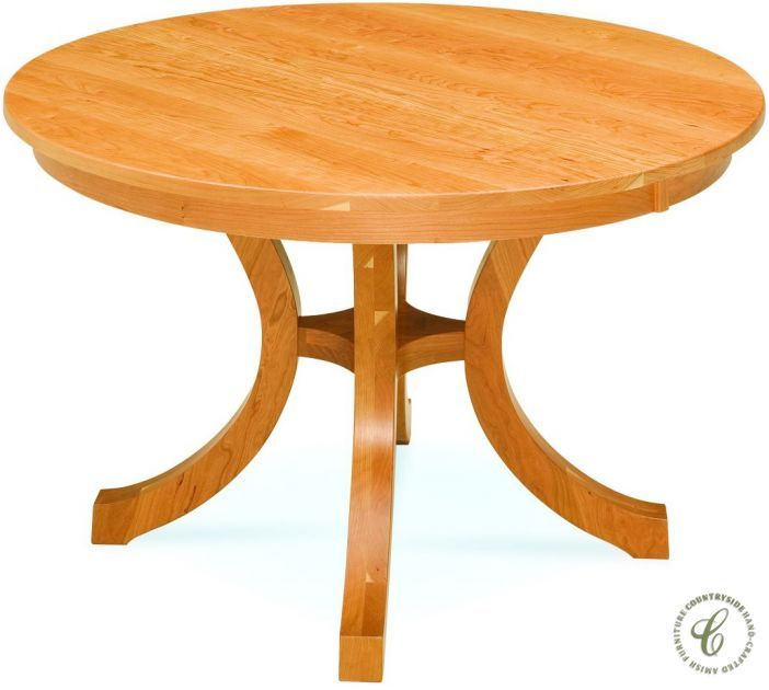Milo Shaker Round Table Round Wood Dining Table Pedestal Dining Table Table