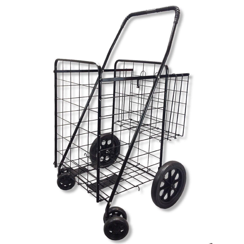 UPT Jumbo Folding Shopping Cart