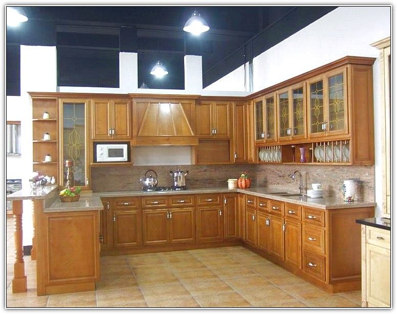 Charmant Phenomenal Wooden Brown Modern Wood Kitchen Cabinets Contemporary Decobizz