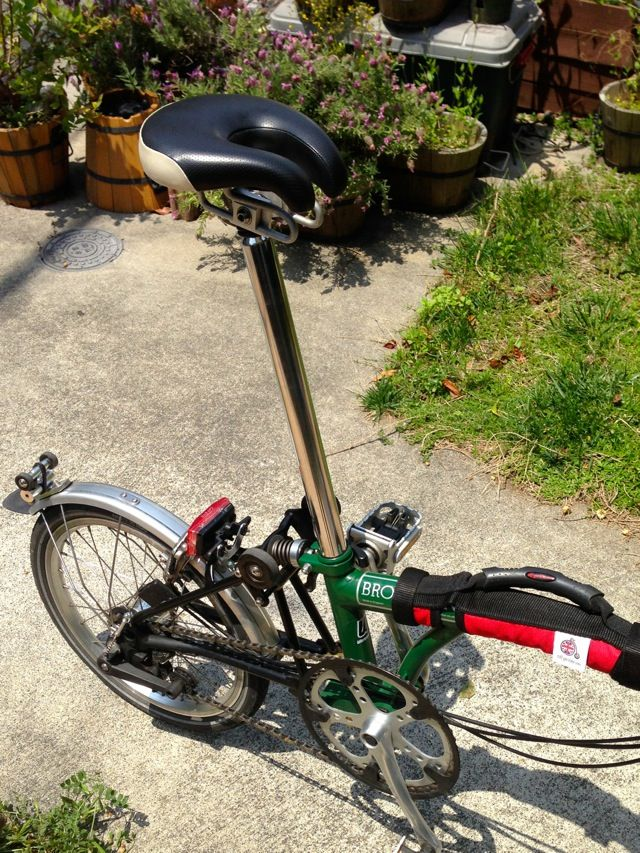 Bromptonのサドルをism Sportに交換してみた Less Than 5 Percent 自転車のアクセサリー サドル 自転車 のデザイン