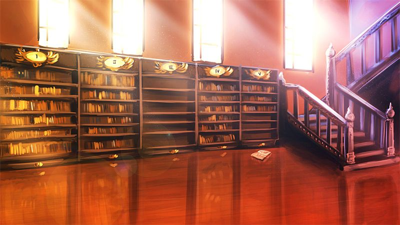 Nanoreno13 The Library By Auro Cyanide Deviantart Com On