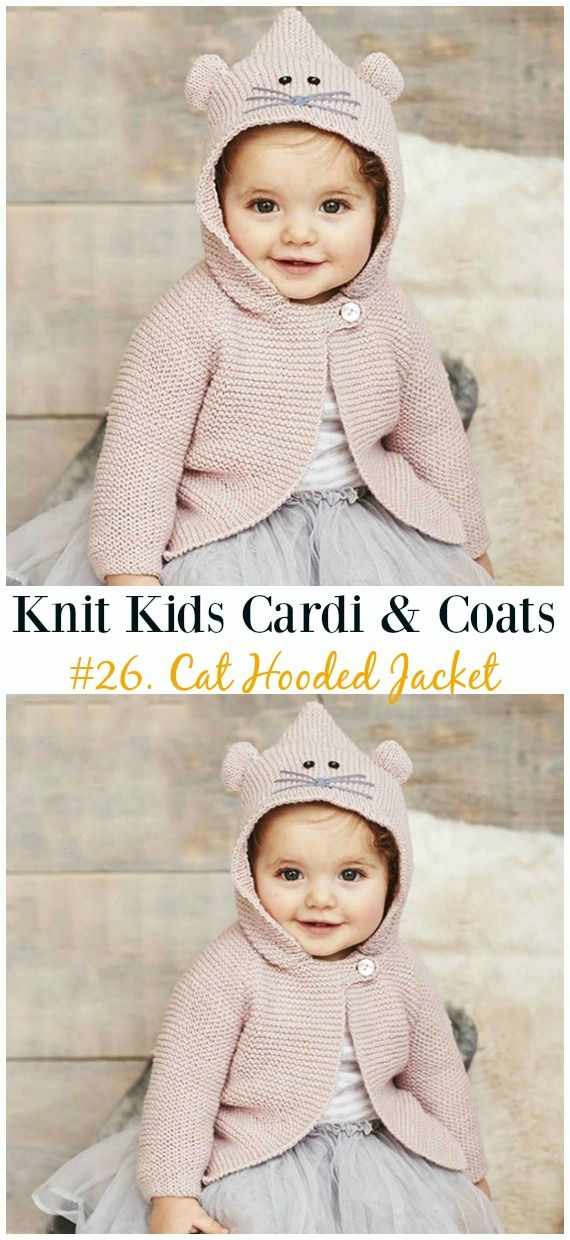 Kids Cardigan Sweater Free Knitting Patterns | Acessorios ...
