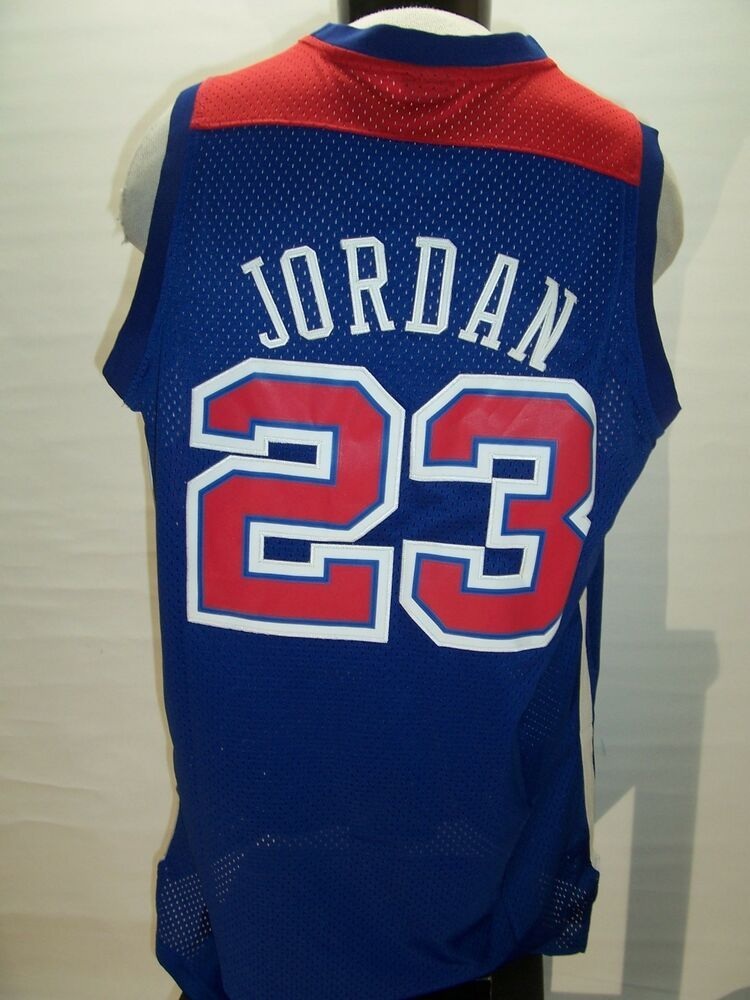 05575f72 Washington BULLETS Michael JORDAN XL X-Large(FITS LIKE LARGE) NIKE Jersey # MichaelJordan