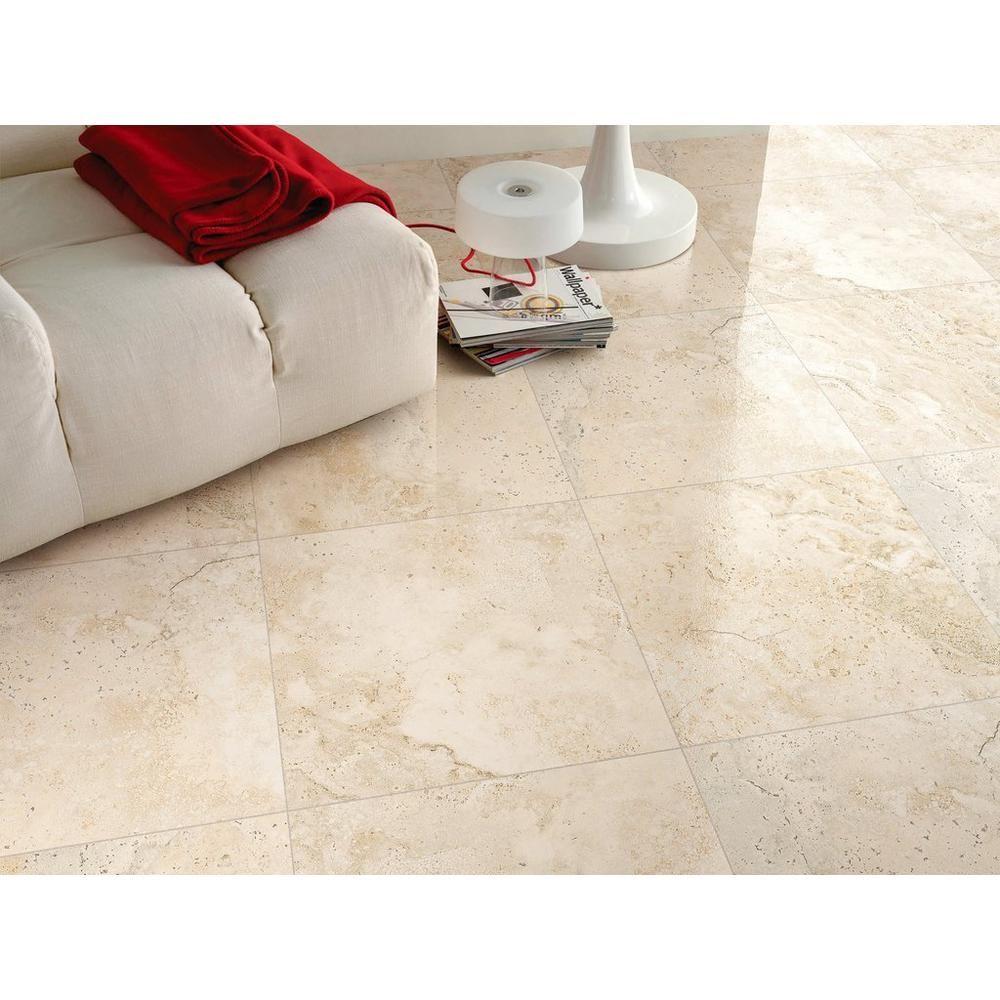 Tarsus Almond Polished Porcelain Tile Floor Decor Polished Porcelain Tiles Porcelain Tile Porcelain Floor Tiles